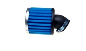 Vzduchový filter 36mm až 38mm zahnutý 45° penový
