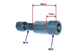 Sťahovák magnetu M24x1 ľavý závit
