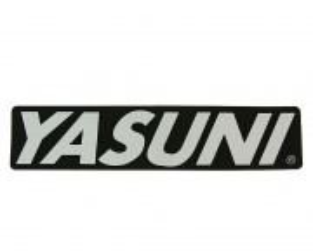 Nálepka tlmiču 170x38mm YASUNI